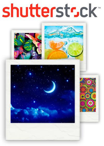 Фотопечать на потолках по каталогу Shutterstock